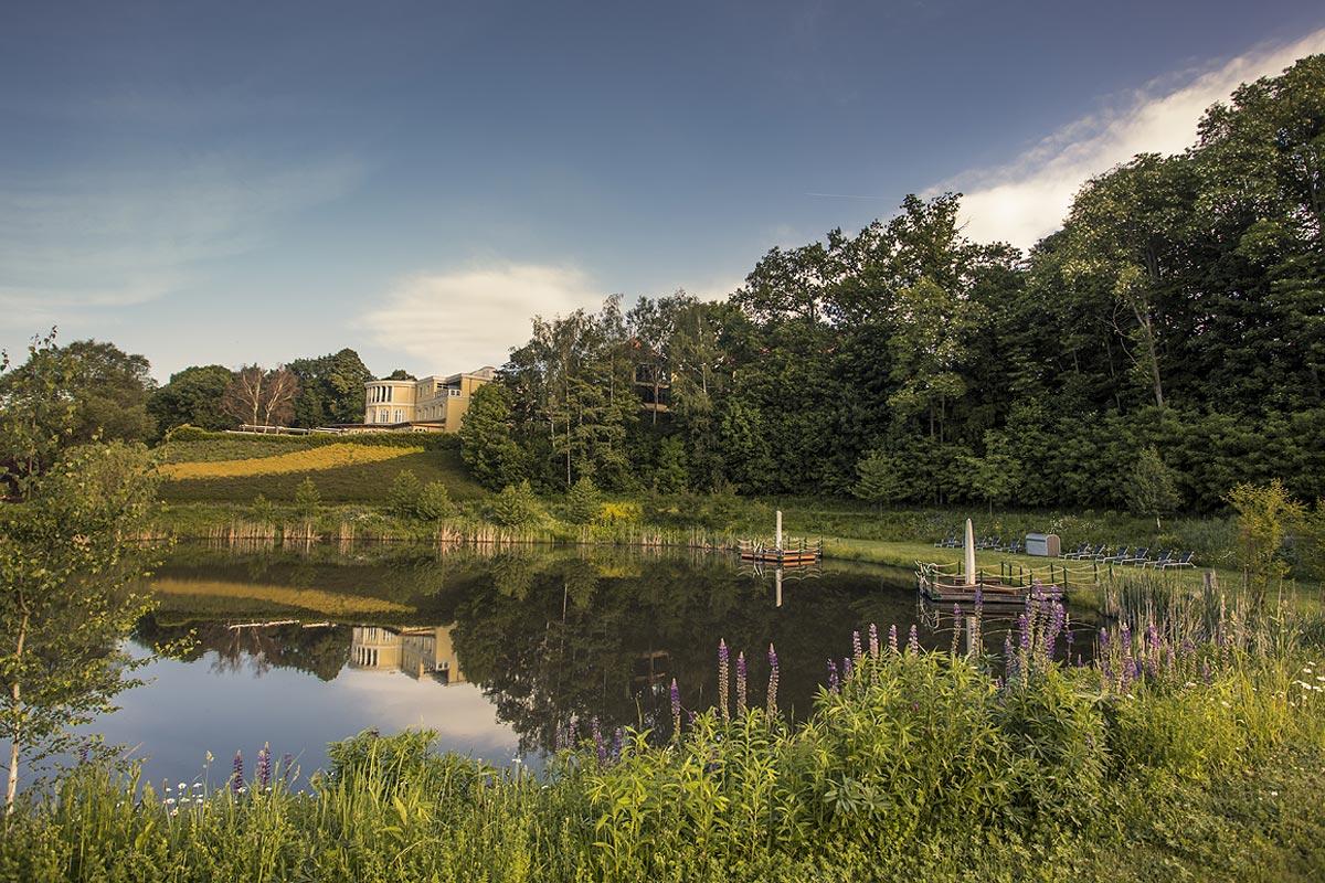 Hotel SCHUMANN natural spring water lake SEEWUNDERBAR