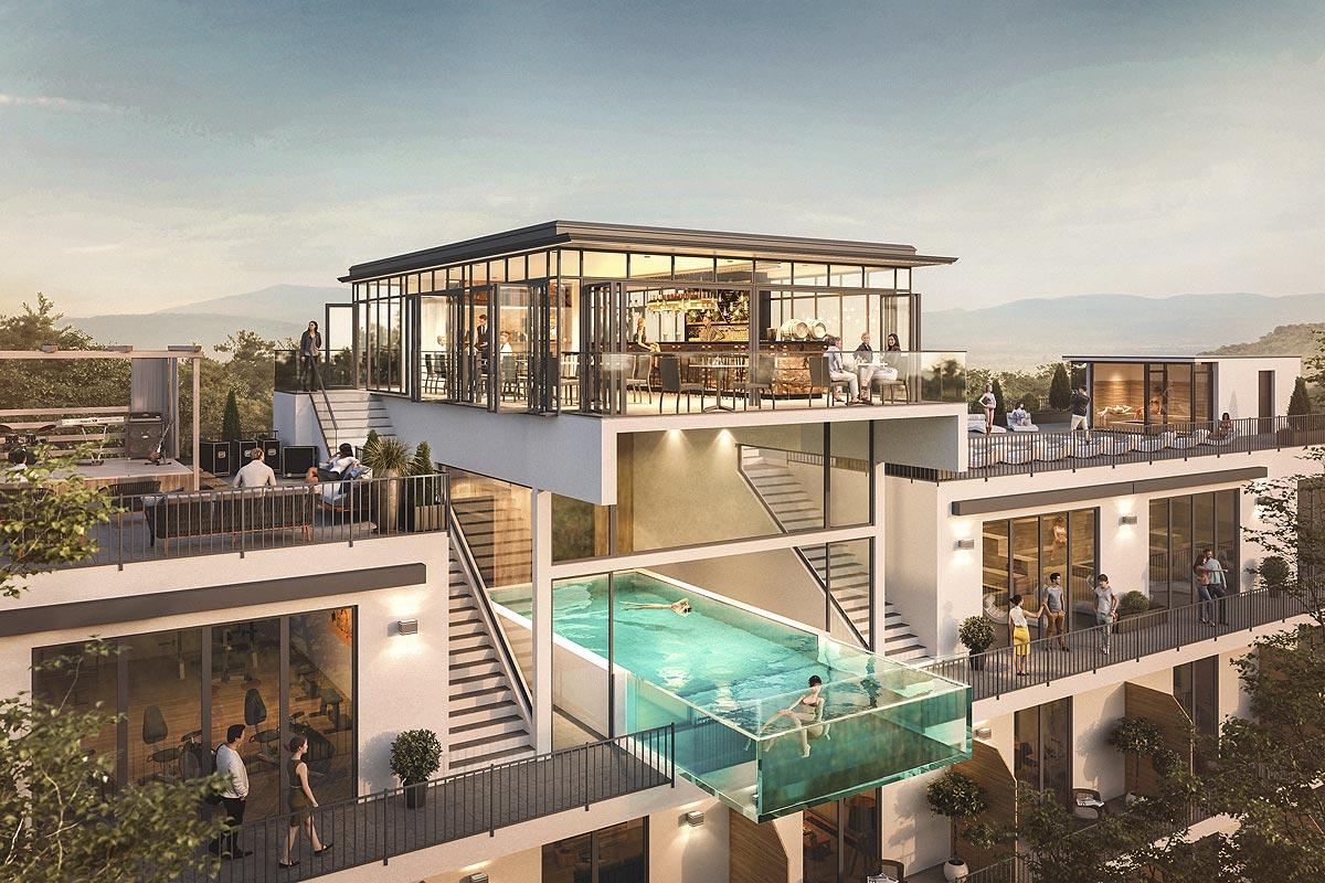 SEEFLÜGEL New Building Hotel SCHUMANN