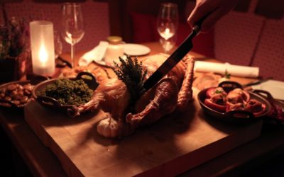Traditionelles Martinsgans-Essen