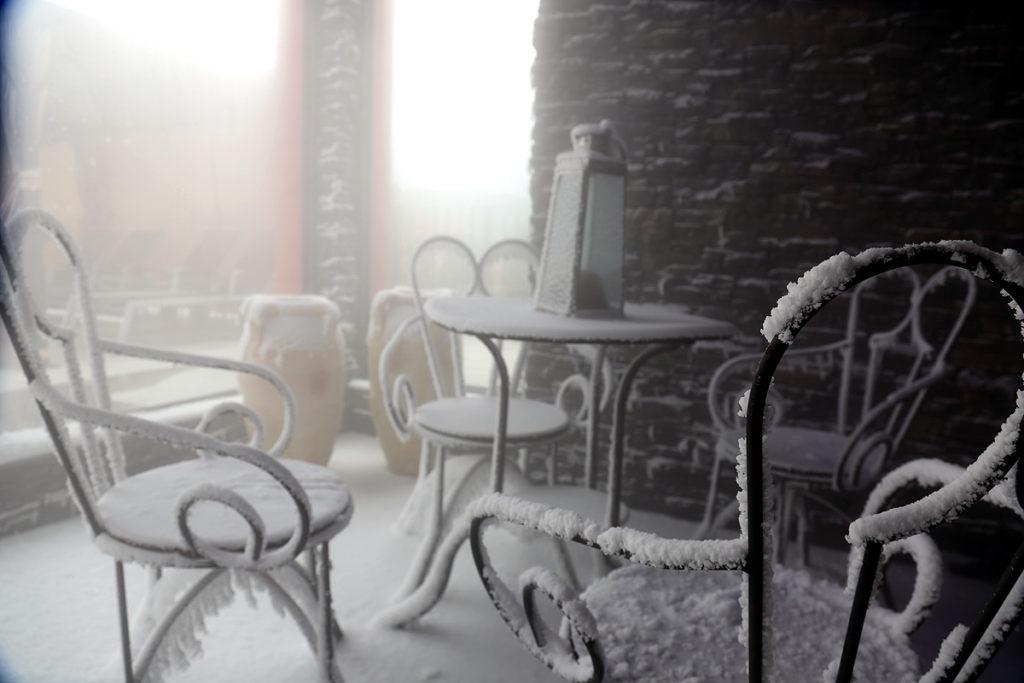 BEI SCHUMANN SEEFLUEGEL Schneesauna