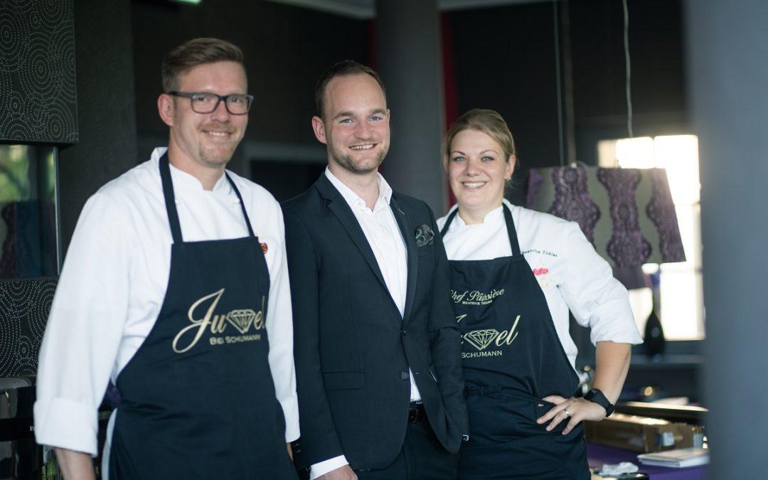 1. Michelin Stern für Küchenchef Robert Hautvogel